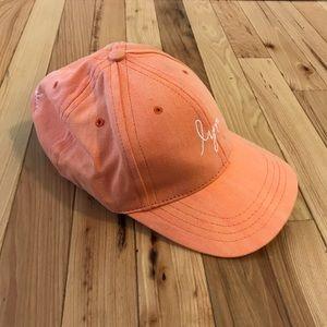 Love Your Melon salmon Ball cap hat